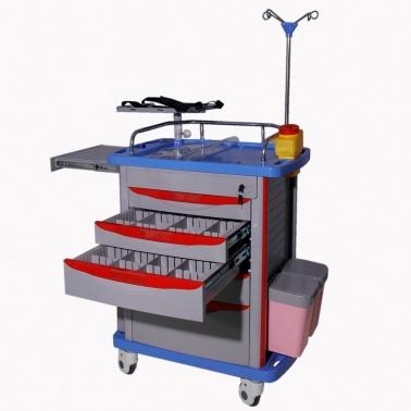Xe đẩy thuốc cấp cứu XCC-004